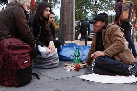 Maraude auprès des sans-abris