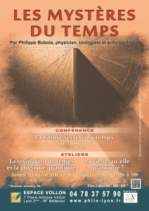 La nature secrète du temps - Conférence de Philippe Bobola