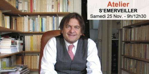 Bertrand Vergely - S'émerveiller (atelier)