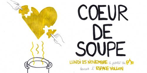 Cœur de Soupe : 1 action solidaire avec et pour les sans-abris