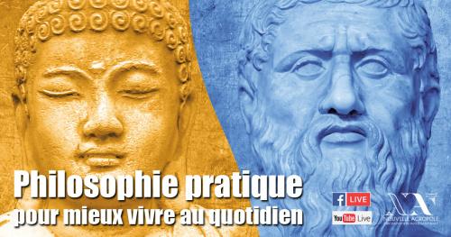 Conférence LIVE : Les clés des philosophies d'Orient et d'Occident pour développer la sérénité dans la vie quotidienne