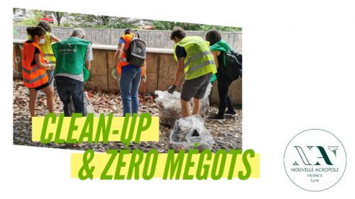 Clean-up et action zéro mégot