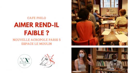Café philo : Aimer rend-il faible ?