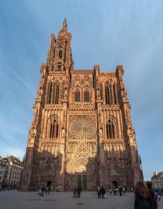 La cathédrale au coeur de la ville