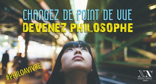 PHILOSOPHIE A VIVRE : atelier découverte