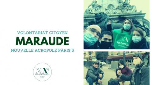 Volontariat citoyen : Maraude