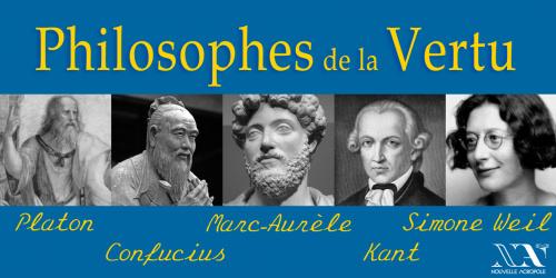 Marc-Aurèle, Platon, ... Les philosophes de la Vertu