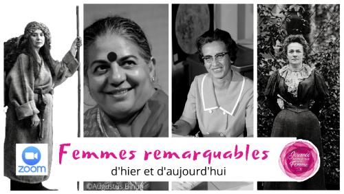 Journée internationale de la femme : Les femmes remarquables d'hier et d'aujourd'hui
